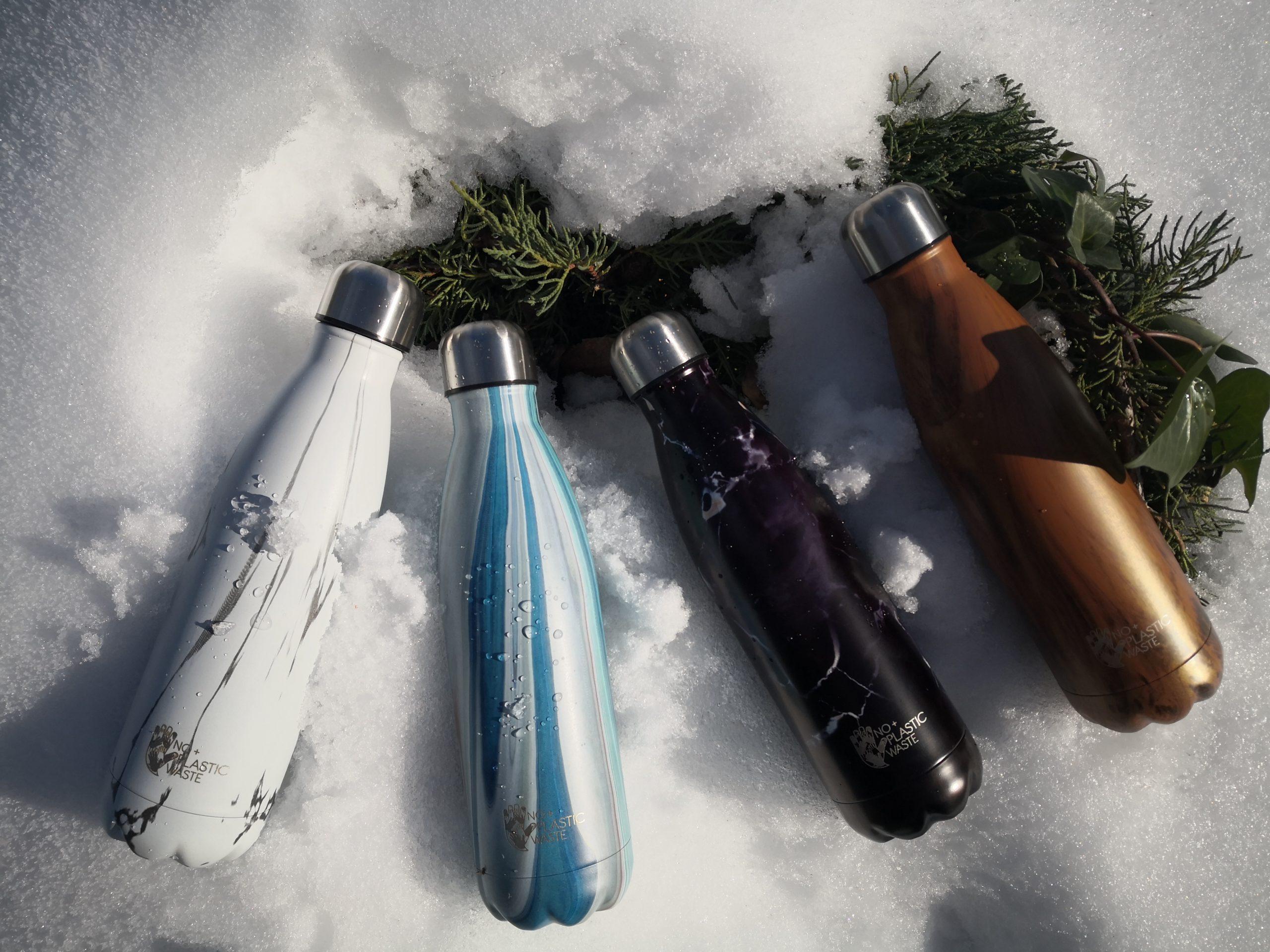 La diferencia en las botellas reutilizables está en las 3 capas